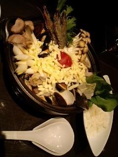 イタリアントマトチーズ鍋