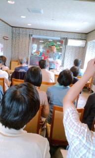 ◆やぶ田さんの講演会大盛況でした!◆