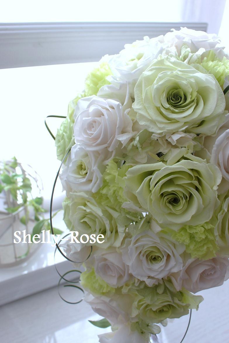 プリザーブドフラワー Shelly-Rose   シェリーローズ