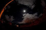 カッパドキアの朝の月
