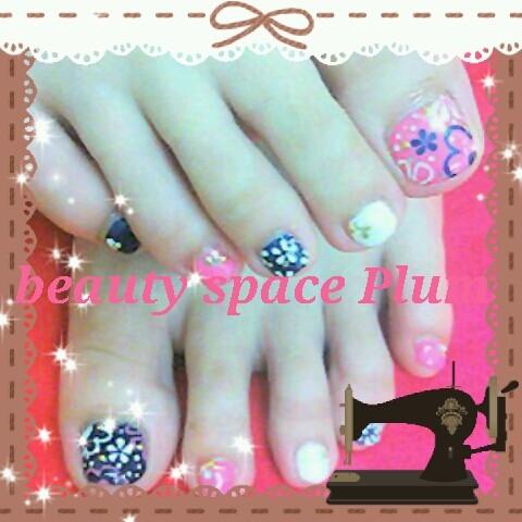 Staff's foot nail レト